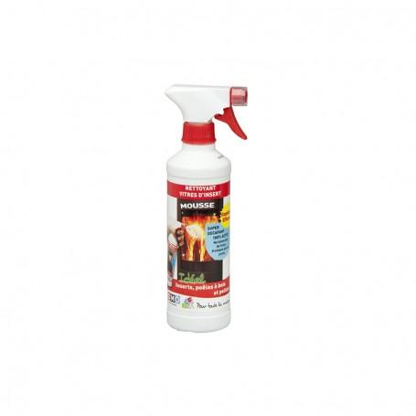 Nettoyant vitre poêle & insert pulvérisateur 500 ml concentré