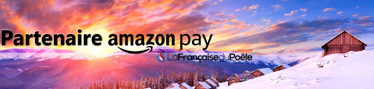Amazon Pay disponible chez la Française du poêle